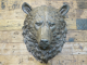 Bear Head Wall Art Made From Resin, Hanging bear head decorative wall ornament