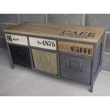 Industrial style low side unit