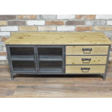Industrial style side unit