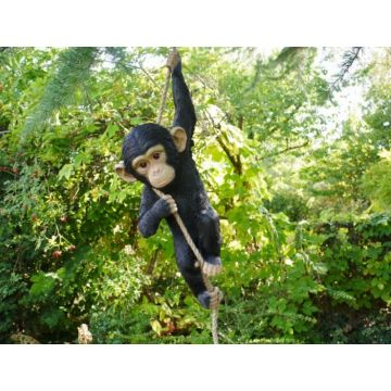 Hanging Monkey Garden tree ornament