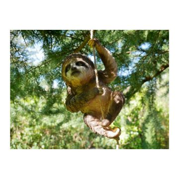 Climbing Sloth Garden Ornament