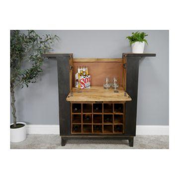 Mango Wood Bar Storage