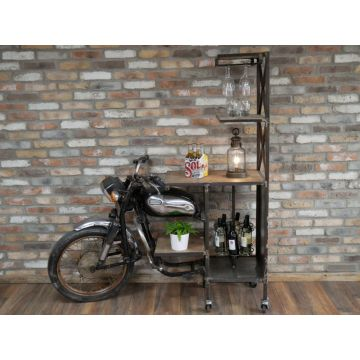 Recycled Motorcycle Bar