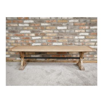 Recycled Elm Wood Rustic Table