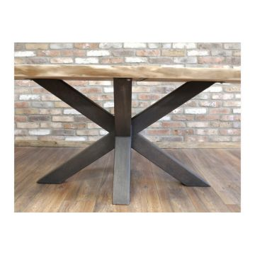 Luxury Acacia Wood Dining Table - Table Only