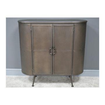 Rustic metal industrial style sideboard, rustic storage unit