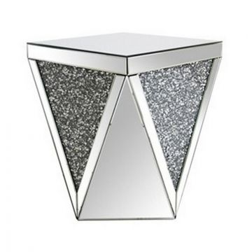 Crushed Sparkle End Table