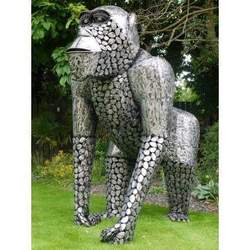 Gorilla garden statue