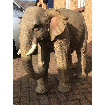 Large resin elephant garden statue
