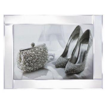 Large high heel shoe and bag picture
