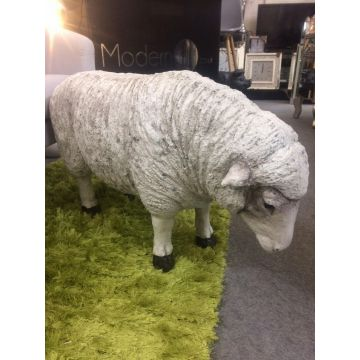 Large sheep garden ornament