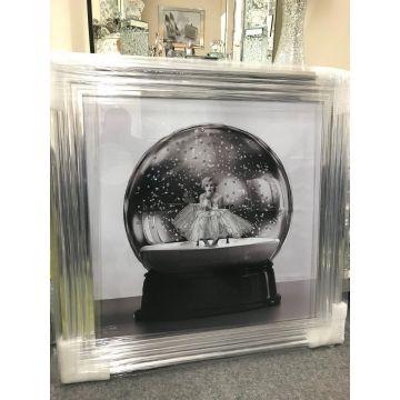 Marilyn monroe snow globe glitter picture