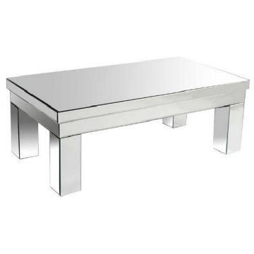 Contemporary Mirror Coffee Table