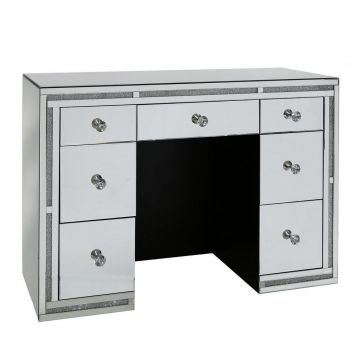 7 Drawer crushed diamond dressing table