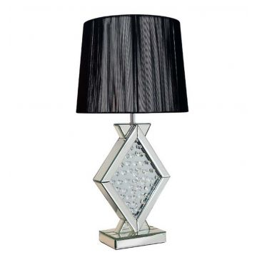 Floating Crystal Angular Table Lamp