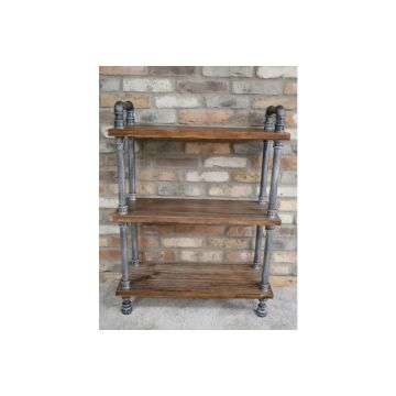 Free Standing Pipe Shelves