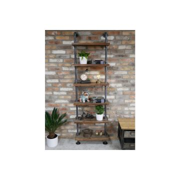 Pipe Wall Shelves Tall