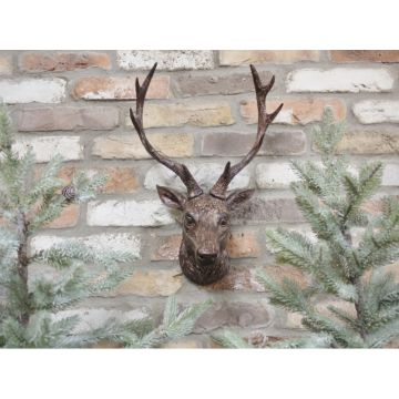 Stags Head Wall Ornament