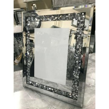 Luxury Crushed diamond 6x4 photo frame